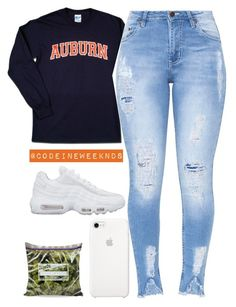 """""""Aug/17/17"""" by codeineweeknds ❤ liked on Polyvore featuring NIKE"""