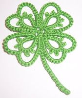 Clover with free pdf pattern from Mariya's Tatting: Free Patterns ... *a*