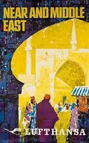 Image result for Vintage Deutsche Lufthansa Travel Posters