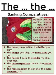 #tefl #tesol #learnenglish #grammar AskPaulEnglish: THE ... THE ... (Linking Comparatives)