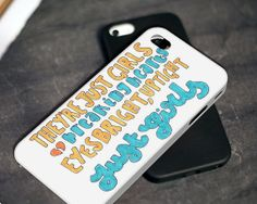The 1975 Girls Lyric  iPhone 4 4S iPhone 5 5S 5C and by JKT48s, $11.99