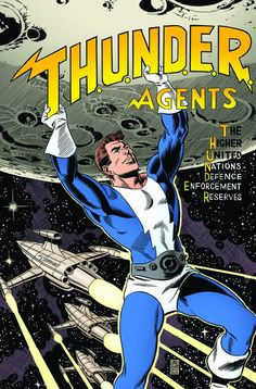 THUNDER Agents #2 (Virgin Cover) #IDW #THUNDERAgents (Cover Artist: Phil Hester) On Sale: 9/18/2013