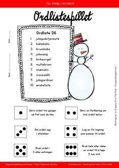 no wp-content uploads 2015 11 ordlistespill. Learning Letters, Alphabet Activities, Math Activities, Luke 6, Alphabet Words, Math Work, Book Letters, Letter Recognition, Early Literacy