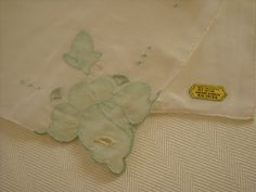 Vintage Madeira Handkerchief Bridal Hanky by LeapofFaithCraftVin