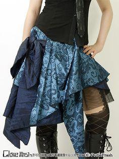 Steampunk Diy, Steampunk Fashion, Dress Skirt, Lace Skirt, Costume Ideas, Costumes, Bustle Dress, China, Gyaru