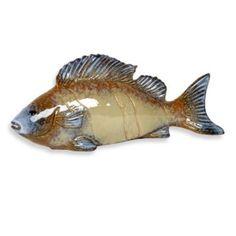 Urban Trends Collection 15-Inch Ceramic Fish - BedBathandBeyond.com