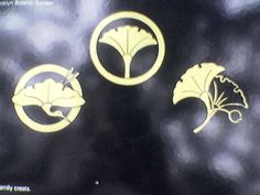 Ginkgo Japanese family crests