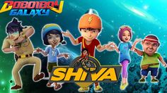 BOBOIBOY GALAXY Transform into SHIVA ANTV Finger Family Nursery Rhymes S...
