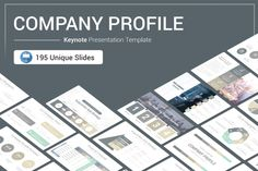 Before you spend hours trying to create a Company Profile from zero, use this done-for-you and super professional-looking template instead, Company Profile Keynote Presentation Template is a Clean presentation template that you can use to present.