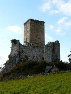 Castillo de los Andrade. Pontedeume (La Coruña)