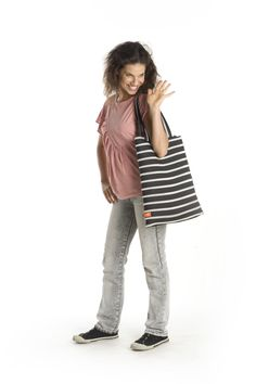 Get all the space you need to store books, binders or supplies for wherever your day takes you. Our largest bag in this category, the Campus Large Tote's body is made of one long zipper that's colored silver and rainbow for a little pizazz. This bag works perfectly as a carry-on, or simply as a means to carry you throughout your day.