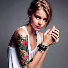 tattooed women - 50  Pictures of Tattooed Women  <3 <3