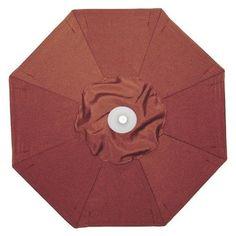 Galtech 9-ft. Double Pulley Patio Umbrella