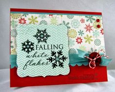 Kendra's Card Company: Colorful Snowflakes!