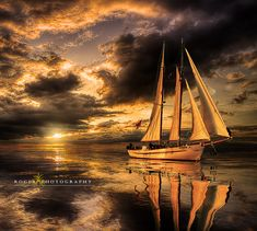 Sunset calm ... by Manuel Roger on 500px