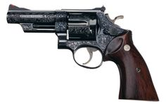 engraved revolver pictures of smith and wesson | Factory Engraved Smith & Wesson Model 29-2 Double Action Revolver ...