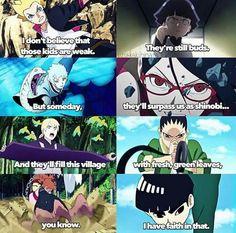 Naruto's words to the other kage about the younger generation and their potential to get stronger as shinobi. Uzumaki Boruto, Shikamaru, Naruto Shippuden Anime, Anime Naruto, Otaku Anime, Kakashi Sensei, Itachi, Naruto Funny, Naruto Sad
