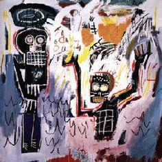 Jean-Michel Basquiat. Baptismal, 1982. Acrylic on canvas.
