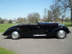 Rolls Royce Phantom II Continental Drophead Coupe by Binder via Car And Classic