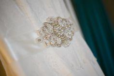 Bride detail photo - dress detail