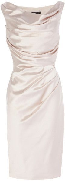 For the mother of the bride COAST ENGLAND Manda Duchess Satin Dress - Lyst