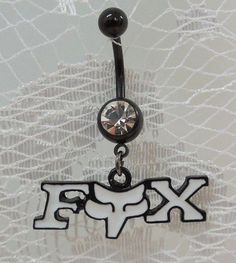 Fox belly button ring | Belly button rings | Pinterest | Belly ...