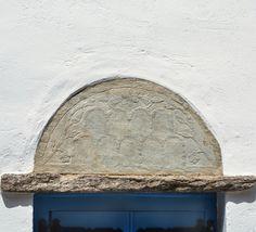 Tinos island, Cyclades, Greece  ph.no159, 08.02.2016 | over the door