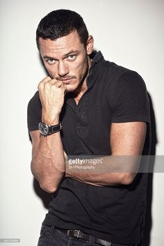 Actor Luke Evans is photographed on November 27, 2012 in London, England.