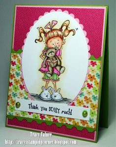 Thank you Beary Much by Scrapgirl1210 - Cards and Paper Crafts at Splitcoaststampers  Kraftin kimmie