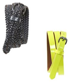 Tori Size S - Sparkle and Solid Skinny Belts 2-Pack - Aeropostale $14.75