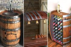 10 Creative Ways to Transform Whiskey Barrels into Rustic Home Decor