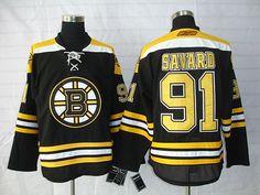 Boston Bruins 91 Marc SAVARD Home Jersey