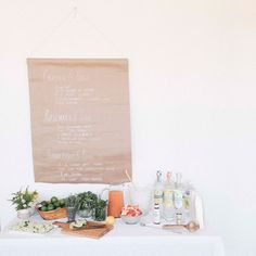 BUILD-YOUR-OWN GIN AND TONIC BAR