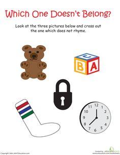 Kindergarten Reading Essentials   Printable Workbook   Education.com