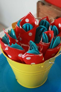 Circus Party Birthday Party Ideas | Photo 8 of 14 | Catch My Party