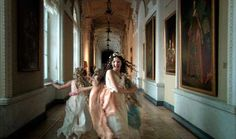 From Russian Ark, a Russian historical film directed by Alexander Sokurov, and filmed entirely in the Winter Palace of the Russian State Hermitage Museum using a single Steadicam sequence shot Russian Ark, Character Inspiration, Story Inspiration, Design Inspiration, Princess Aesthetic, Modern Princess, Great Movies, Royalty, Wedding Dresses