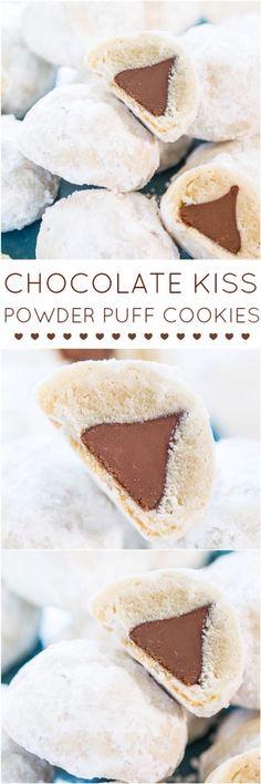 Chocolate chip powderpuff cookies!