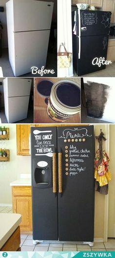 Best 25 painted fridge ideas on pinterest fridge for Mobilia lavagna