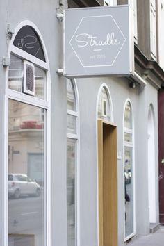 essen in wien: strudls | h.anna Cafe Bar, Travel Destinations, Travel Europe, Austria, Architecture Design, Places To Go, Around The Worlds, Anna, Outdoor Decor