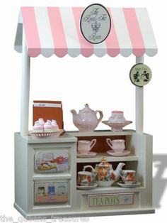"Tea Room Shop Snack Counter For 18"" American Girl Doll Furniture & Accessories"