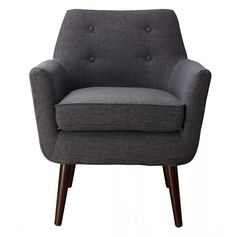 Claude Grey Linen Chair
