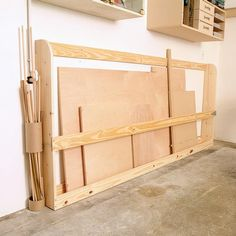 Workshop Storage Idea Pvc Pipe Leftovers To Store Wood