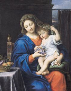 madonna of the grapes - Google Search