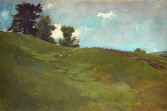 Landscape Painted at Cornish, New Hampshire by John White Alexander