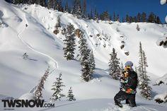 Bryan Iguchi and Kevin Jones. #bryaniguchi #volcom #snowboarding