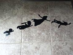 $24 Disney Peter Pan tinkerbell tink metal wall art decor, nursery, kids bedroom, kids gifts, nursery, baby shower gifts, kids birthday, fly