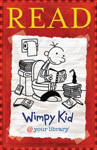 Diary of a Wimpy Kid Poster - Products for Children - Posters - ALA Store for $16.00 from http://www.alastore.ala.org/detail.aspx?ID=2466