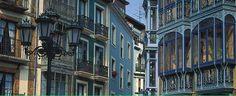 oviedo spain - Rua de Cimadevilla street