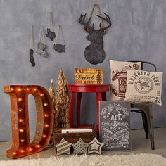 Industrial Holiday Décor