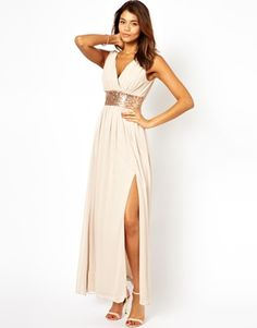 Melissa what about this one. i like it alot.  ASOS Sequin Grecian Maxi Dress $37.04
